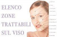 parti viso trattabili con acido ialuronico